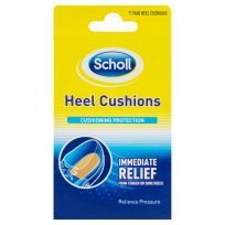 Scholl Heel Cushions Cuchioning Protection 1 Pair