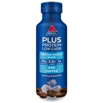 Atkins Protein Plus Low Carb Shake Iced Coffee 400ml