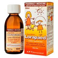 Lorapaed Oral Liquid Peach Flavour 150ml