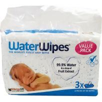 Water Wipes Baby Wipes 180 Pack