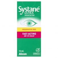 Systane Ultra Preservative-Free Lubricant Eye Drops 10ml