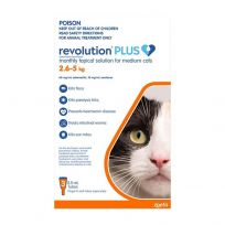 Revolution Plus Medium Cats 3 Pack