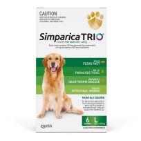 Simparica Trio 20.1-40kg (Green) 6 Pack