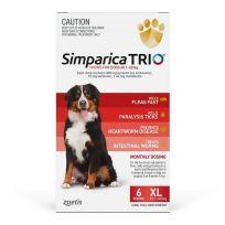 Simparica Trio 40.1-60kg (Red) 6 Pack