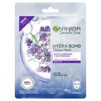 Garnier Skin Active Hydra Bomb Tissue Face Mask Lavender 1 each