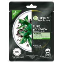 Garnier Skin Active Pure Charcoal Tissue Face Mask Black Tea 1 each