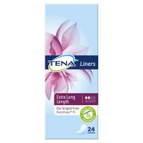 TENA Extra Long Length Liner 24 Pack