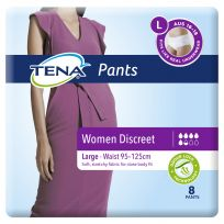 TENA Pants Women Discreet Large 8 Pack