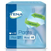 TENA Pants Plus Extra Large 12 Pack