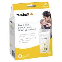 Medela Breast Milk Storage Bags 50 Pack