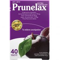 Prunelax Extra Strength 40 Tablets