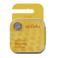 Otifleks Natural Beeswax Ear Plugs 4 Pack