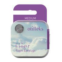 Otifleks Flier Flight Ear Plugs Medium Pair