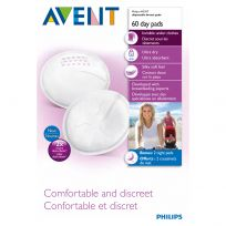 Avent Disposable Breast Pads for Day Time 60 Pack