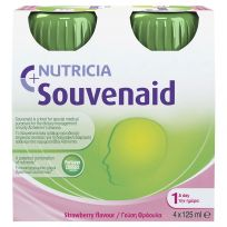 Souvenaid Strawberry 4 x 125ml bottles