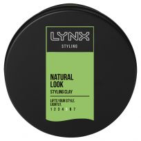 Lynx Men Hair Natural Look Styling Clay 75ml
