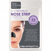 Skin Republic Charcoal Nose Strips 6 Pack
