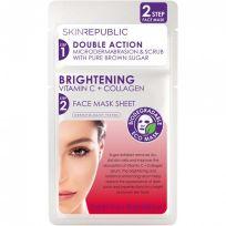 Skin Republic Brightening Vitamin C + Collagen Face Mask