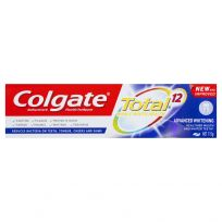 Colgate Toothpaste Total Advanced Whitening Antibacterial Fluoride 115g