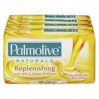 Palmolive Soap Bar Milk & Honey 4 x 90g Pack