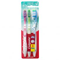 Colgate Toothbrush Max White Medium 3 Pack
