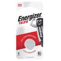 Energizer CR1620 Battery 3V Lithium 1 Pack