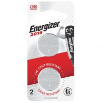 Energizer CR2016 Battery 3V Lithium 2 Pack