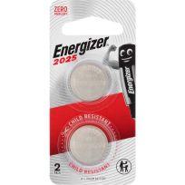 Energizer CR2025 Battery 3V Lithium 2 Pack