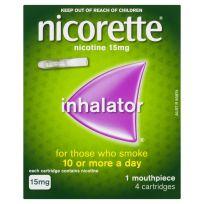 Nicorette Inhalator 15mg 4 Cartridges