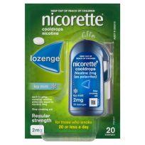 Nicorette Cooldrops Lozenge 2mg 20 Pack