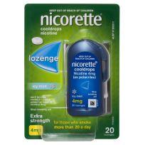Nicorette Cooldrops Lozenge 4mg 20 Pack