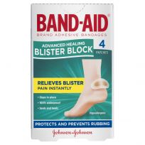 Band Aid Advanced Healing Blister Block Regular 4 Pack