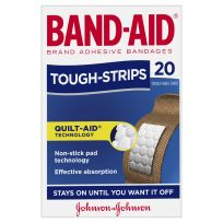Band Aid Tough Strips Regular 20 Pack