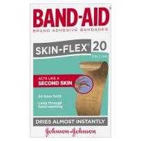 Band Aid Skinflex Strips Regular 20 Pack