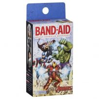 Band Aid Character Avengers 15 Pack