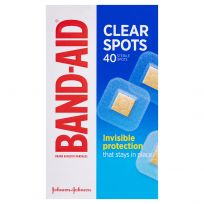 Band Aid Clear Spots 40 Pack