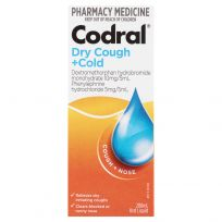 Codral Dry Cough + Cold Berry 200ml