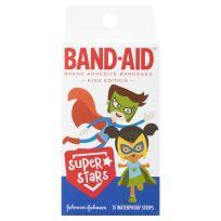 Band Aid Super Stars Waterproof Strips 15 Pack