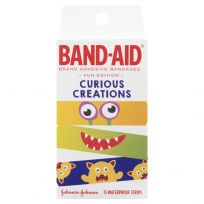 Band Aid Curious Creations Waterproof Strips 15 Pack