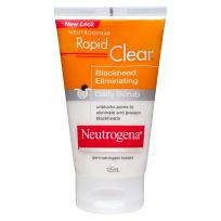 Neutrogena Rapid Clear Blackhead Scrub 125ml