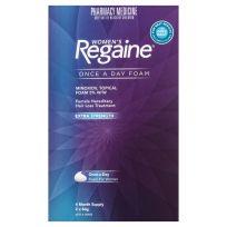 Regaine Women's Hair Loss Treatment Foam Extra Strength 2 x 60g