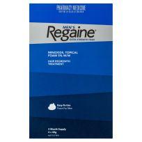 Regaine Men's Hair Loss Treatment Foam Extra Strength 4 x 60g