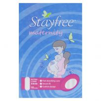 Stayfree Maternity No Wings Pads 10 Pack