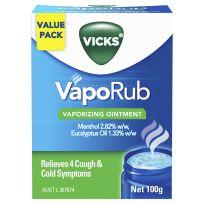 Vicks VapoRub Decongestant Rub 100g