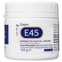 E45 Moisturising Cream for Dry Skin & Eczema 125g