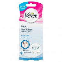 Veet EasyGrip Ready-to-Use Wax Strips Sensitive Skin 20 Pack
