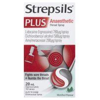 Strepsils Plus Anaesthetic Menthol Flavour 20ml