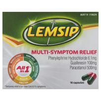 Lemsip All In 1 Multi Symptom Relief 16 Capsules