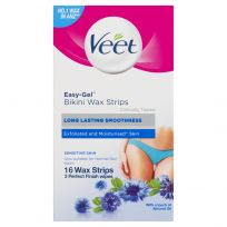 Veet Easy-Gel Bikini Wax Strips for Sensitive Skin