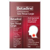 Betadine Antiseptic Sore Throat Gargle 15ml